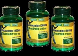 Glucosamine Nature's bounty 1500mg