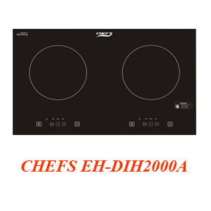 BẾP ĐIỆN TỪ ĐÔI CHEFS EH-DIH2000A
