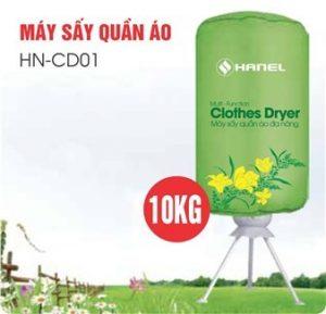 MÁY SẤY QUẦN ÁO HANEL TRÒN HN-CD01